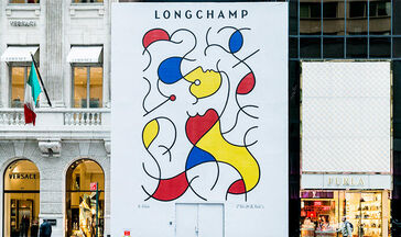 LONGCHAMP BRINGS ITS ARTWALK MOVEMENT TO NEW YORK'S FIFTH AVENUE