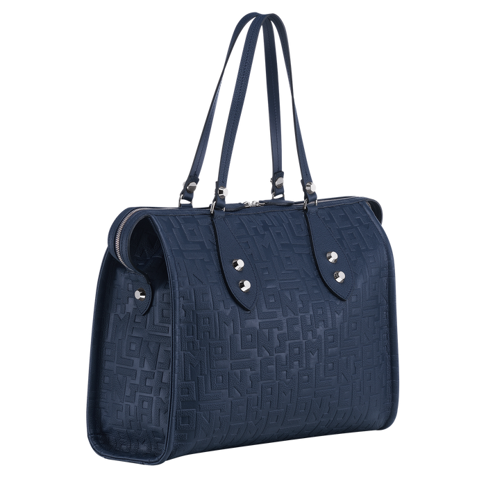 Shoulder bag, Navy, hi-res - View 2 of 3