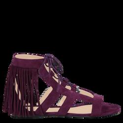 Sandales plates, 527 Violet, hi-res