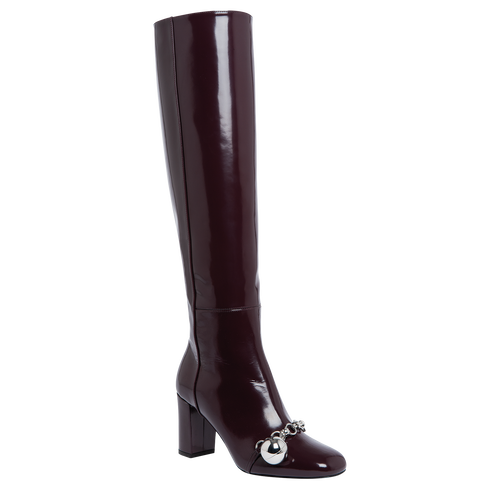 Boots, Aubergine - View 2 of  3 -