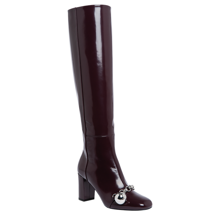 Boots, Aubergine - View 2 of  3 - zoom in
