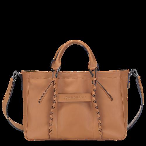 Top handle bag M, Natural, hi-res - View 1 of 3