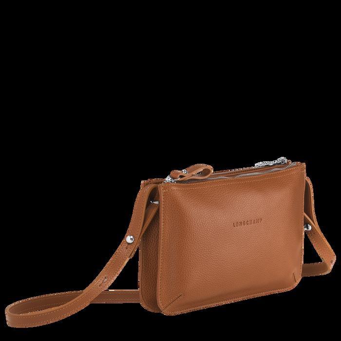 Le Foulonné 系列 斜背袋, 淡紅褐色
