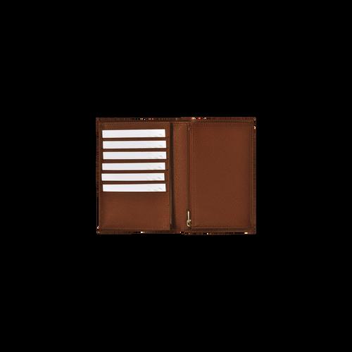View 3 of Brieftaschen, Cognac, hi-res