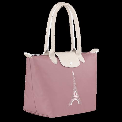 官網獨家限定 Le Pliage Club 肩揹包S, 藕粉色