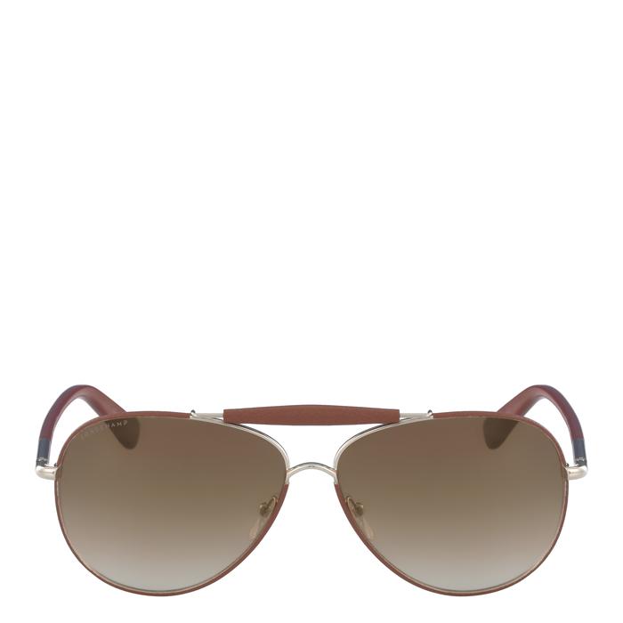 Sunglasses, Gold/Bourbon, hi-res - View 1 of 2