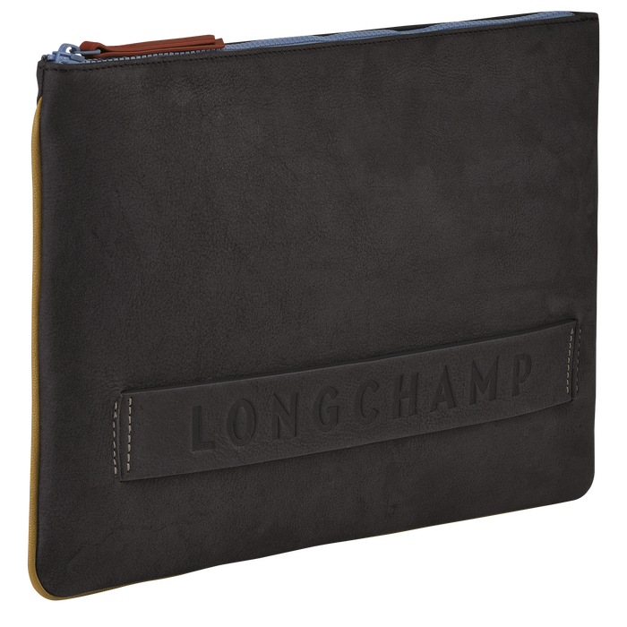 Longchamp 3D 小袋子 - 公事包, 鐵灰色