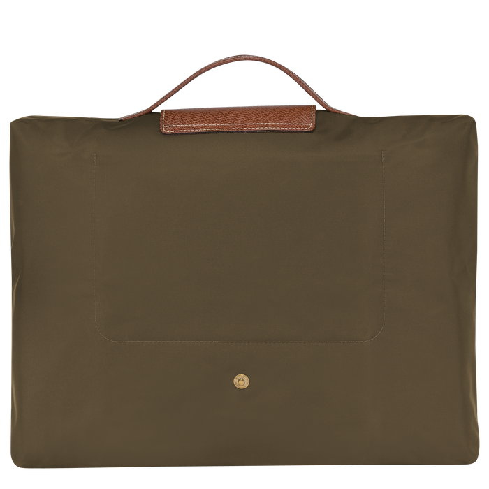 Briefcase S, Khaki - View 3 of  4 - zoom in