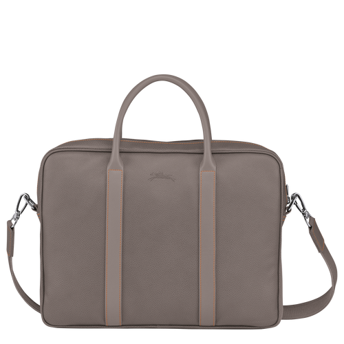 Briefcase XS, Taupe - View 3 of 3 -