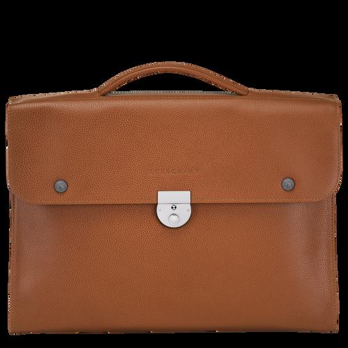 Briefcase M Le Foulonné Caramel (L2156021F72) | Longchamp EN