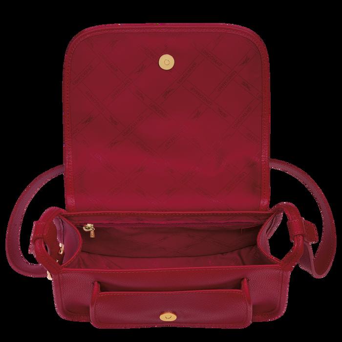 Le Foulonné Crossbody bag M, Red