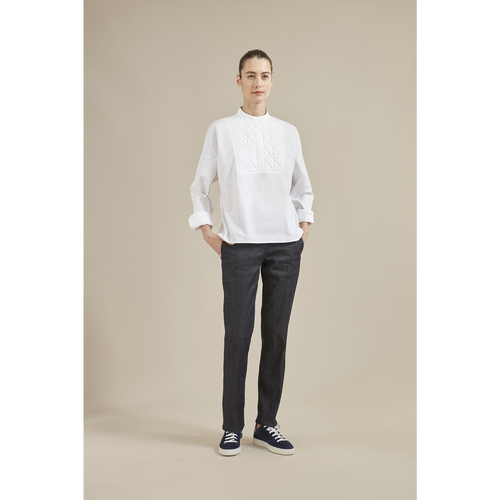 Fall-Winter 2021 Collection Shirt, White