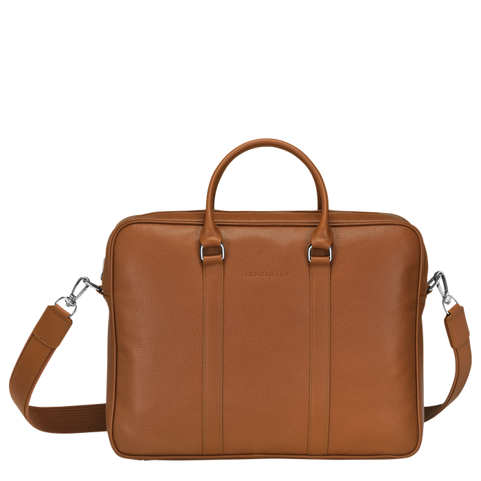 Briefcase M, Caramel - View 1 of 3 - zoom in