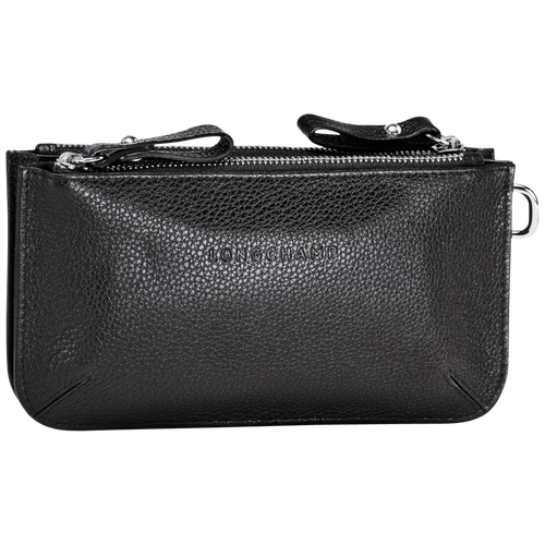 Le Foulonné Coin purse, Black