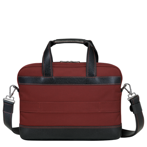 Briefcase S, Red lacquer - View 3 of  3 -