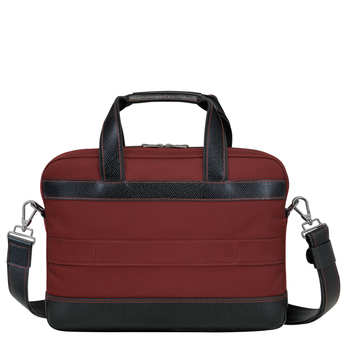 Briefcase S, Red lacquer - View 3 of  3 - zoom in