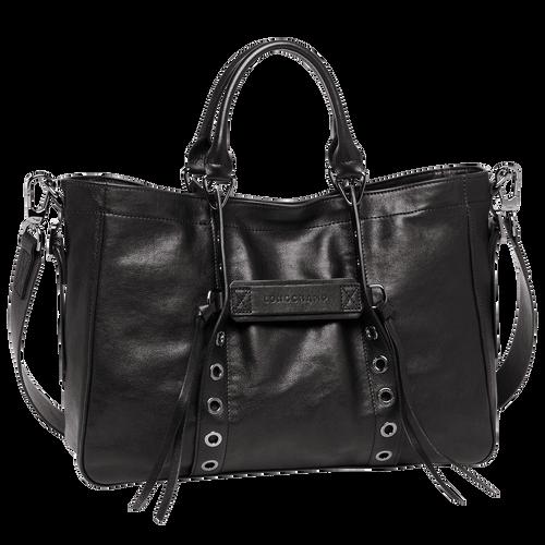 View 1 of Tote bag M, Black, hi-res