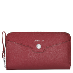 Zip around wallet, 608 Vermilion, hi-res