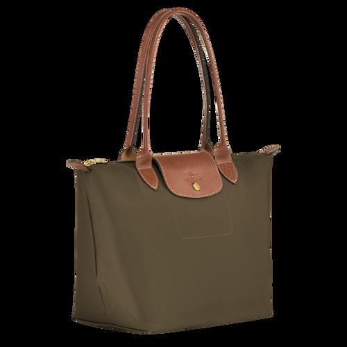 Shoulder bag S, Khaki, hi-res - View 2 of 4