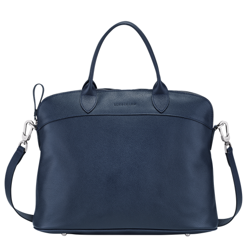 Top handle bag M, Navy - View 1 of  3 -