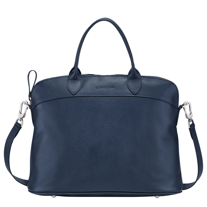 Top handle bag M, Navy - View 1 of  3 - zoom in