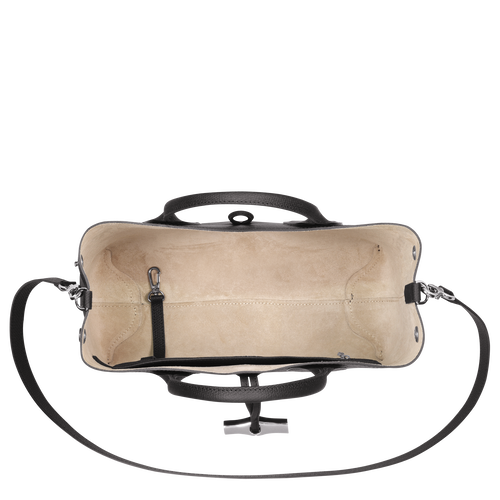 View 5 of Top handle bag M, Black, hi-res