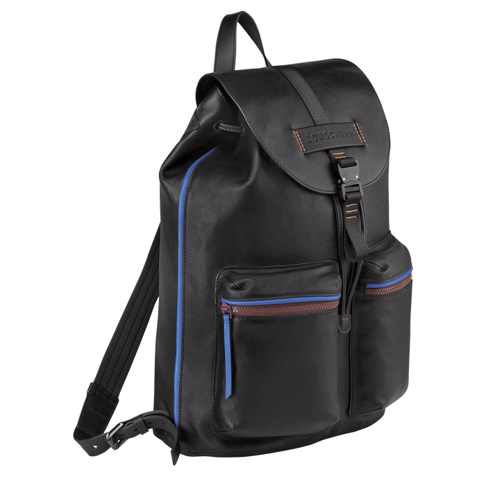 Longchamp 3D Backpack L, Black