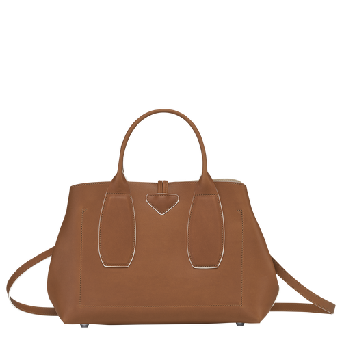 Top handle bag M, Cognac - View 4 of 5 -