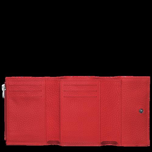 Portefeuille compact, Rouge, hi-res - Vue 2 de 2