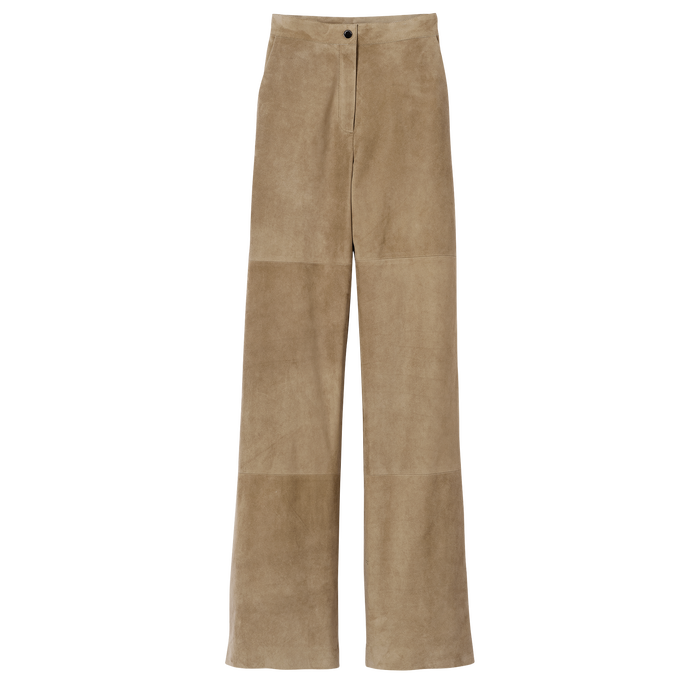 Spring-Summer 2021 Collection Trousers, Khaki