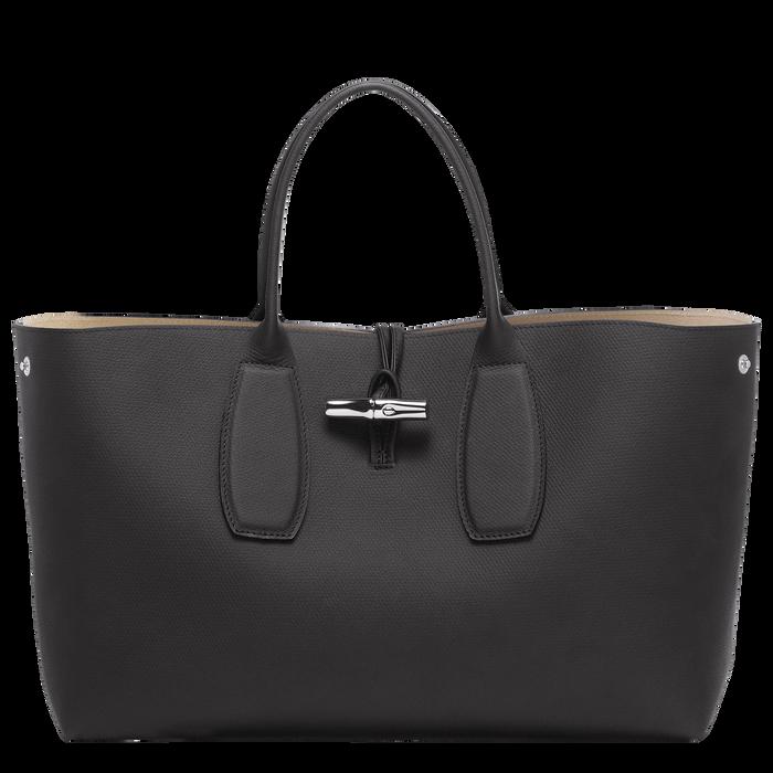 Top handle bag L, Black, hi-res - View 2 of 5