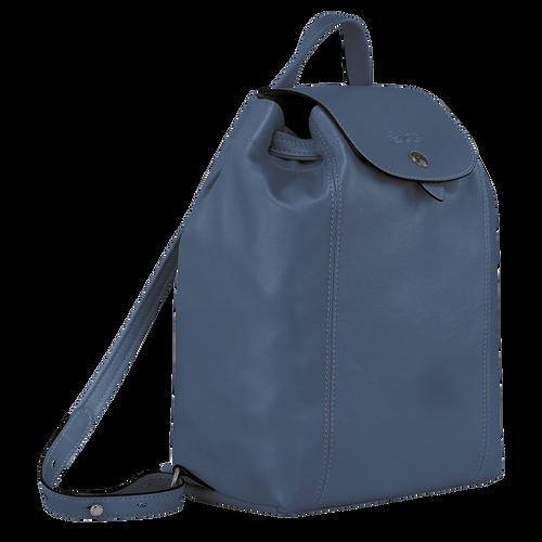 Le Pliage Cuir 後背包, 機師藍色
