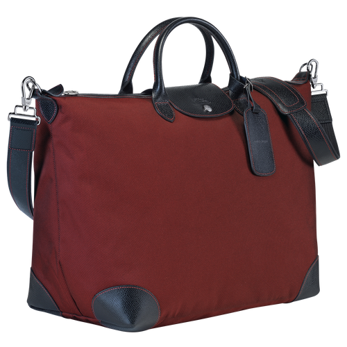 Travel bag L, Red lacquer - View 2 of  3 -