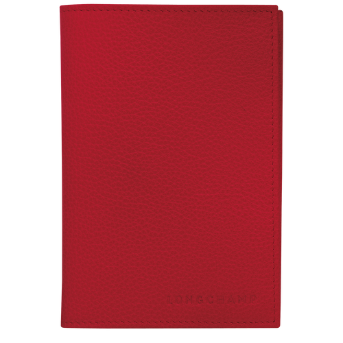 Passport cover, Red - View 1 of 2 -