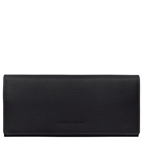 Long continental wallet, Black - View 1 of  3 -