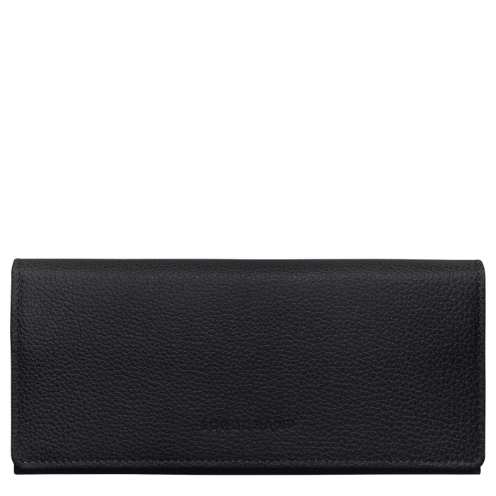 Long continental wallet, Black - View 1 of  3 - zoom in