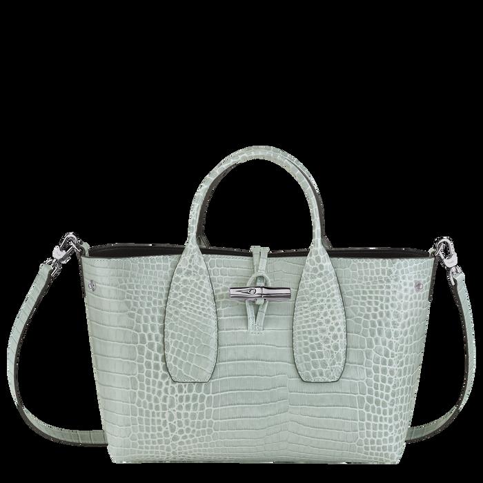 Roseau Top handle bag M, Jade