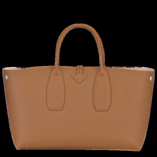 Roseau Top handle bag L, Natural