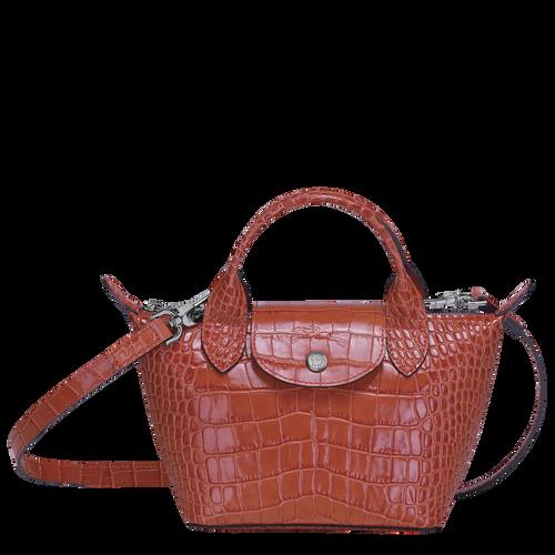 Top handle bag XS Le Pliage Cuir Coral (L1500HVC838)   Longchamp GB