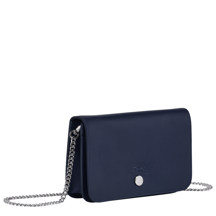 Wallet on chain, Navy - View 2 of  3 - zoom in