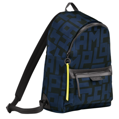 Backpack M, Black/Navy - View 2 of 4 -