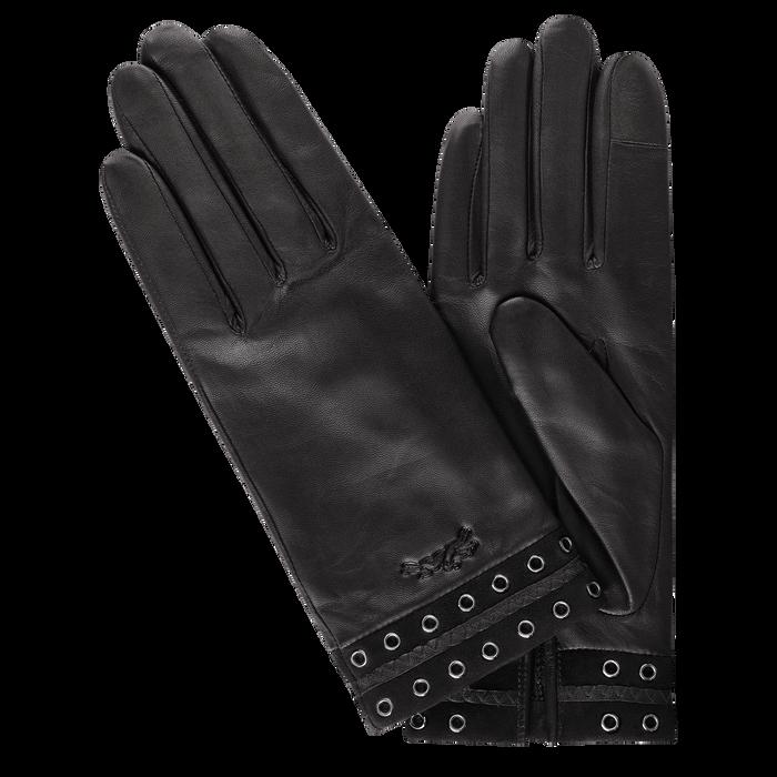 Ladies' gloves, Black/Ebony - View 1 of  1 - zoom in