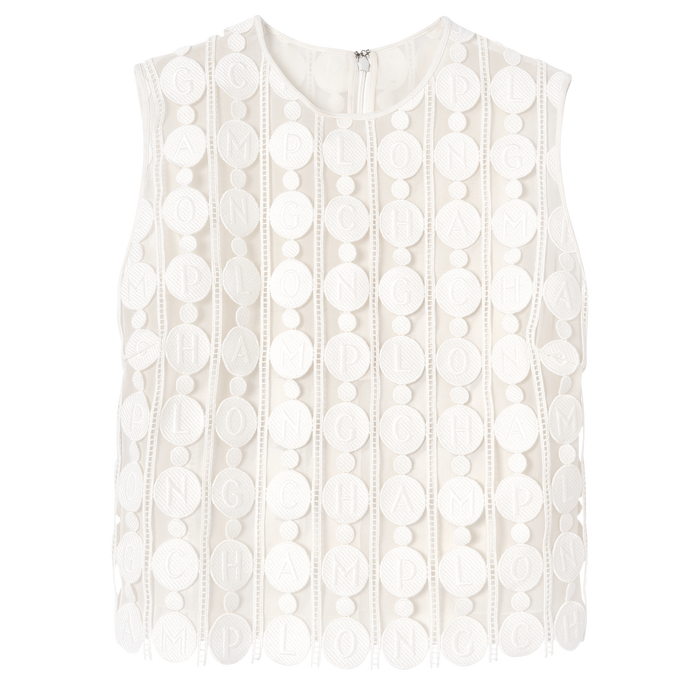 Spring-Summer 2021 Collection Top, White