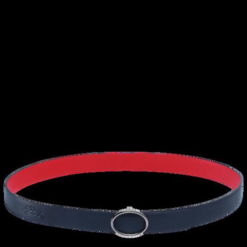 Cinturón de mujer, Azul Oscuro/Rojo, hi-res - View 1 of 1
