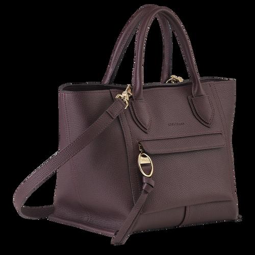 Top handle bag M, Aubergine - View 2 of  4 -