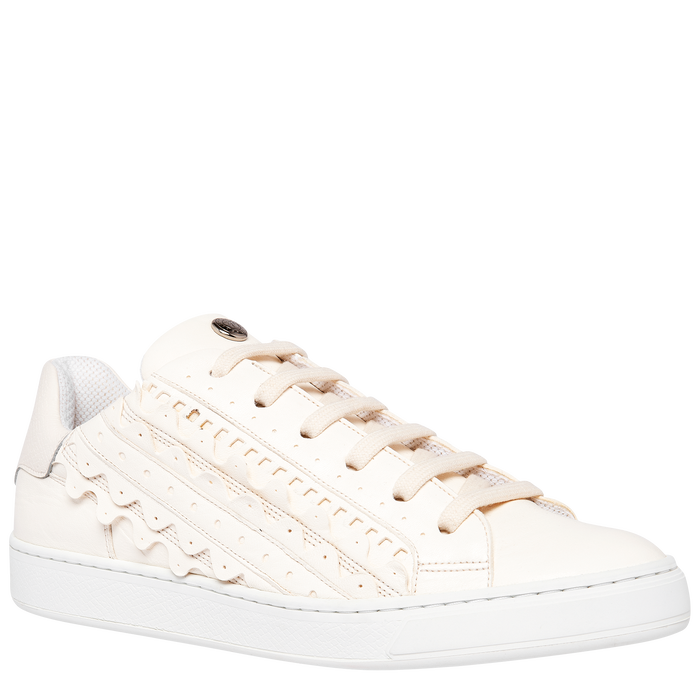 Spring-Summer 2021 Collection Sneakers, Ivory