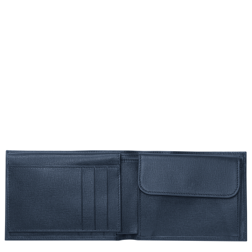 View 2 of Small wallet, Navy, hi-res