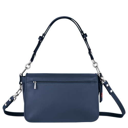 Hobo bag, Pilot blue, hi-res - View 3 of 3