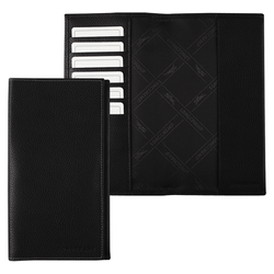 Checkbook holder, 047 Black, hi-res