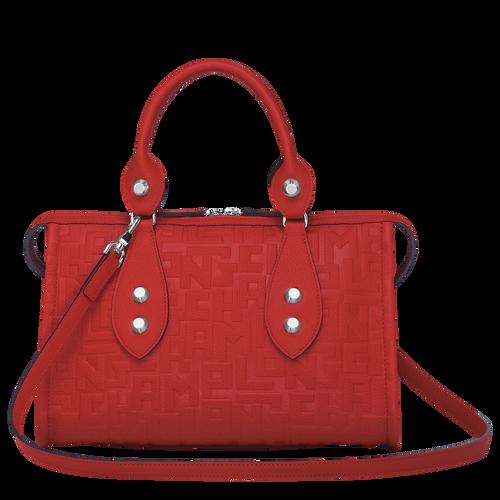 Top handle bag, Burnt Red, hi-res - View 3 of 3